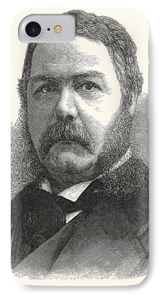 Chester Arthur, Vice-president-elect The United States IPhone Case by American School