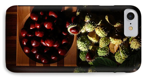 IPhone Case featuring the photograph Chestnuts by David Andersen