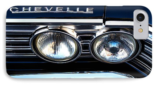 Chevelle Headlight Phone Case by Jerry Fornarotto