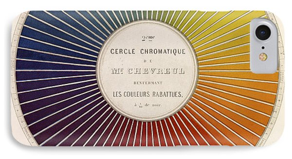 Chevreuls Chromatic Circle IPhone Case by Getty Research Institute