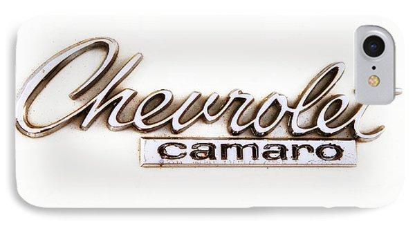 Chevrolet Camaro Emblem Phone Case by Jerry Fornarotto