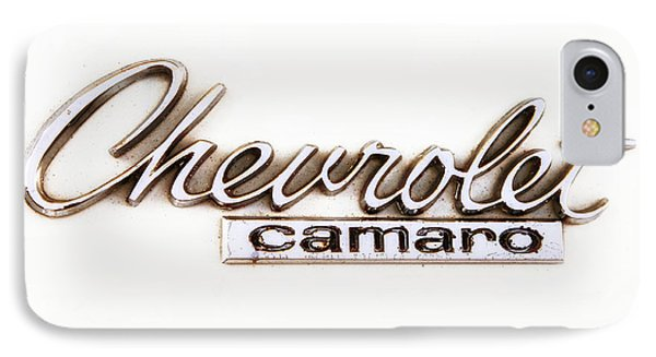 Chevrolet Camaro Emblem IPhone Case by Jerry Fornarotto