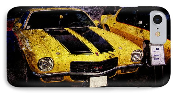 IPhone Case featuring the photograph Chevrolet Camaro by Mohamed Elkhamisy
