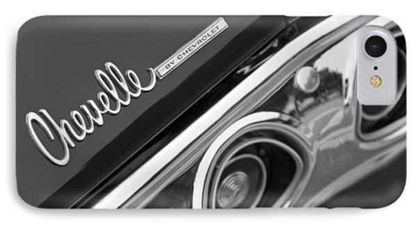 Chevrolet Chevelle Ss Taillight Emblem Phone Case by Jill Reger