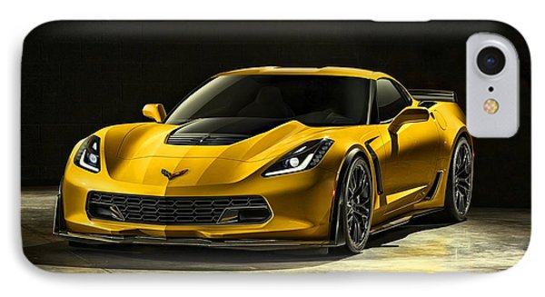Chevrolet Corvette Z06  IPhone Case by Movie Poster Prints