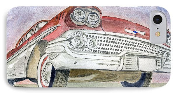 Chevrolet II IPhone Case by Eva Ason