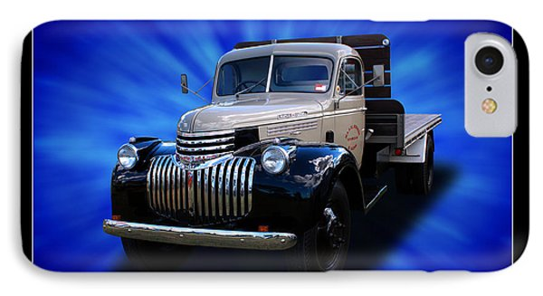 IPhone Case featuring the photograph Chevrolet Maple Leaf Truck by Keith Hawley