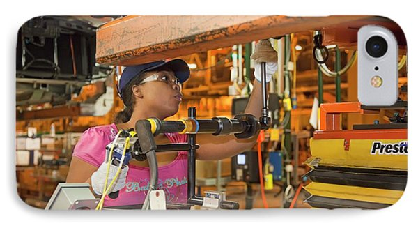 Chevrolet Volt Assembly Line IPhone Case