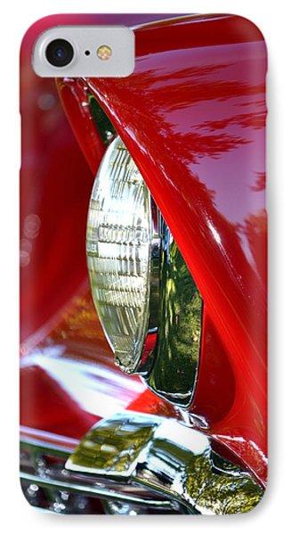 Chevy Headlight IPhone Case by Dean Ferreira