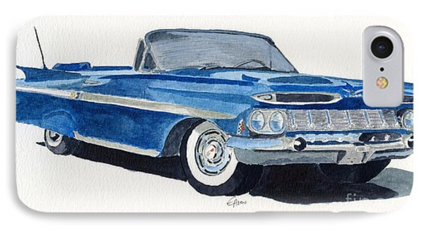 Chevy Impala IPhone Case by Eva Ason