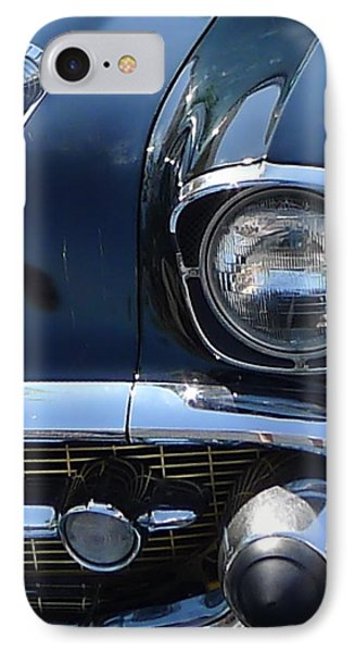 IPhone Case featuring the photograph Chevy In Black by Richard Reeve