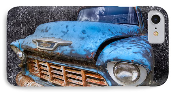 Chevy In The Woods Phone Case by Debra and Dave Vanderlaan
