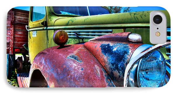 Chevy Oldie IPhone Case by Allen Biedrzycki