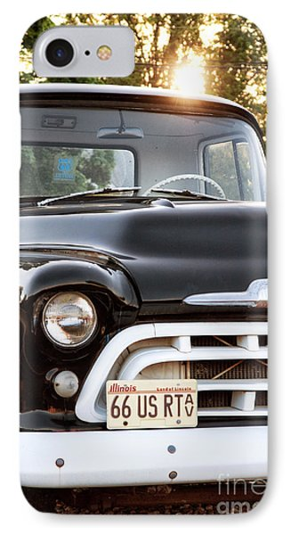 Chevy Truck Phone Case by John Rizzuto