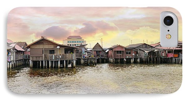 Chew Jetty Heritage Site In Penang IPhone Case by Jit Lim