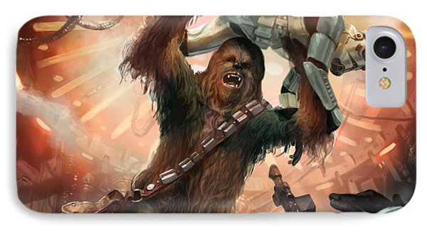 Chewbacca - Star Wars The Card Game IPhone Case