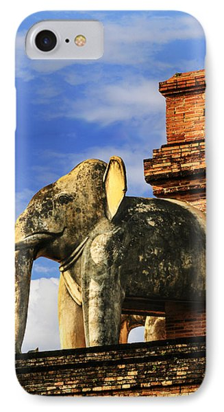 IPhone Case featuring the photograph Chiang Mai Elephant by Rob Tullis