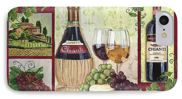 Chianti And Friends 2 IPhone Case by Debbie DeWitt