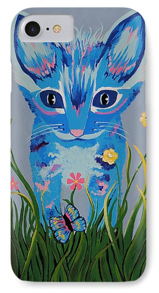 IPhone Case featuring the painting Chibi by Kathleen Sartoris