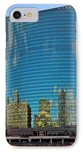 Chicago - 333 West Wacker Drive Phone Case by Christine Till