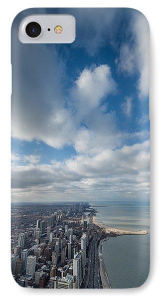 Chicago Aloft IPhone Case by Steve Gadomski