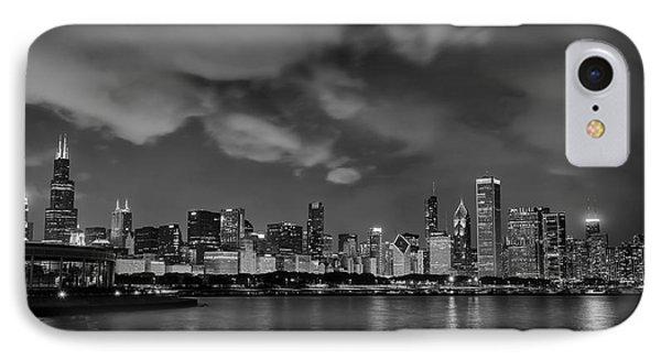 Chicago August Evening IPhone Case by Donald Schwartz