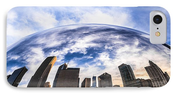 Chicago Bean Cloud Gate Skyline IPhone Case