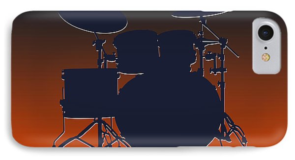 Chicago Bears Drum Set IPhone Case by Joe Hamilton