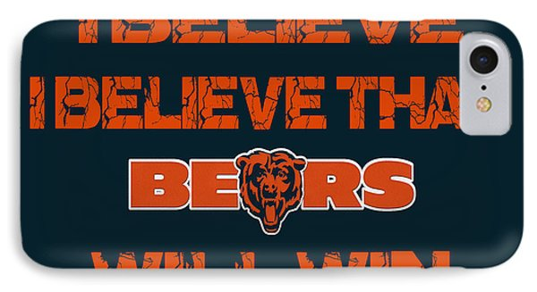 Chicago Bears I Believe IPhone Case