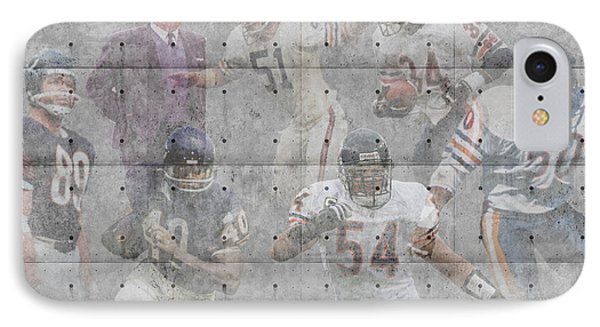 Chicago Bears Legends IPhone Case by Joe Hamilton