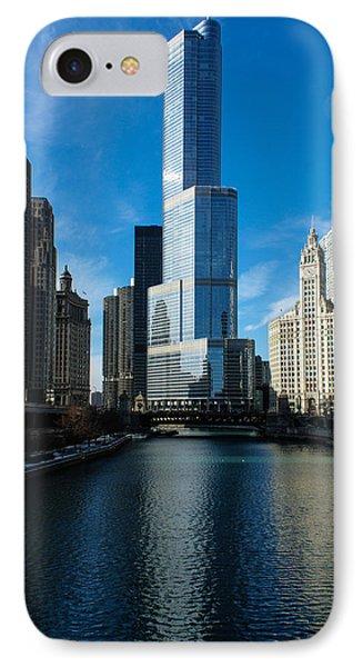 IPhone Case featuring the photograph Chicago Blues by Georgia Mizuleva
