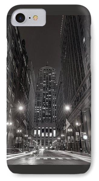 Chicago Board Of Trade B W Phone Case by Steve Gadomski