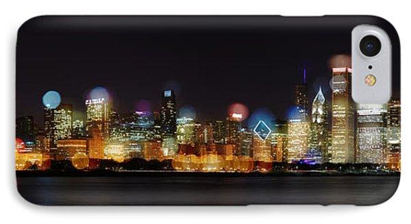 Chicago Bokeh IPhone Case
