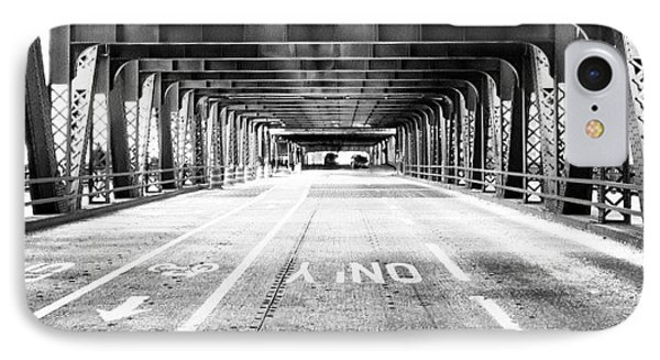 Chicago Wells Street Bridge Picture IPhone Case by Paul Velgos