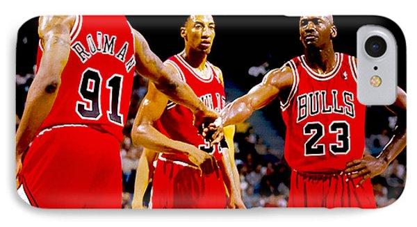 Chicago Bulls Big 3 IPhone Case