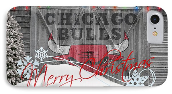 Chicago Bulls Phone Case by Joe Hamilton