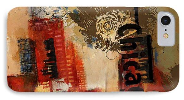Chicago Collage Alternative IPhone Case
