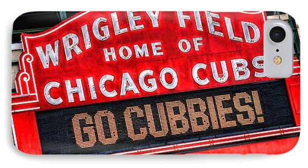 Wrigley Field iPhone 7 Case - Chicago Cubs Wrigley Field by Christopher Arndt