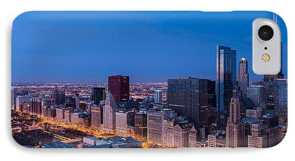 Chicago Dawn IPhone Case by Steve Gadomski
