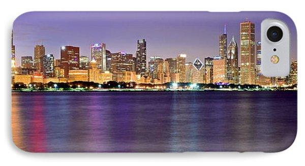 Chicago Evening Panorama IPhone Case