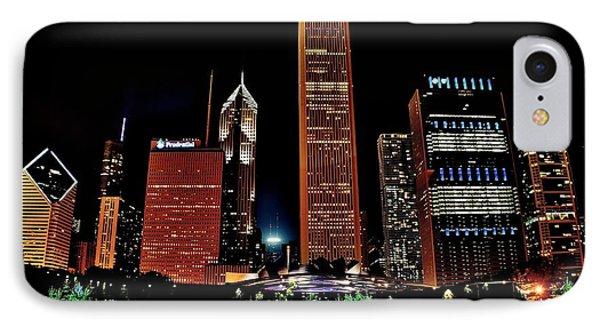 Chicago From Millennium  Park IPhone Case