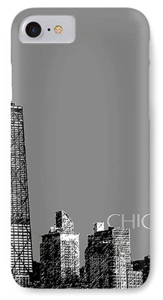 Chicago Hancock Building - Pewter IPhone Case