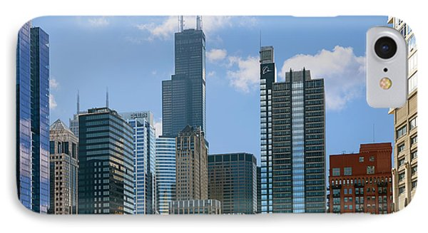 Chicago - It's Your Kind Of Town Phone Case by Christine Till