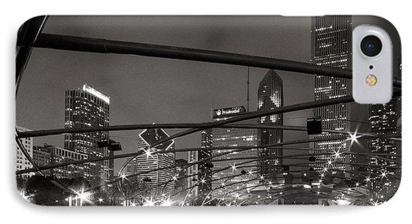 Chicago - Jay Pritzker Pavilion  IPhone Case by Jackie Novak