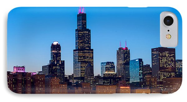 Chicago Lakefront Blues IPhone Case by Steve Gadomski