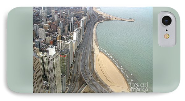 Chicago Lakeshore Phone Case by Ann Horn