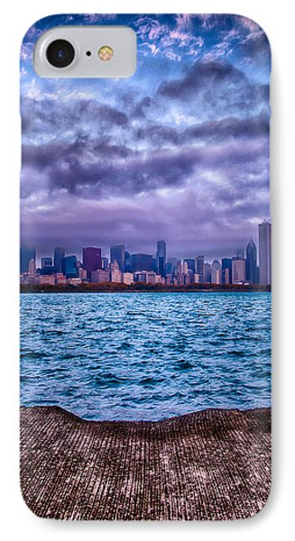 Chicago Lost In The Clouds IPhone Case by Michael  Bennett
