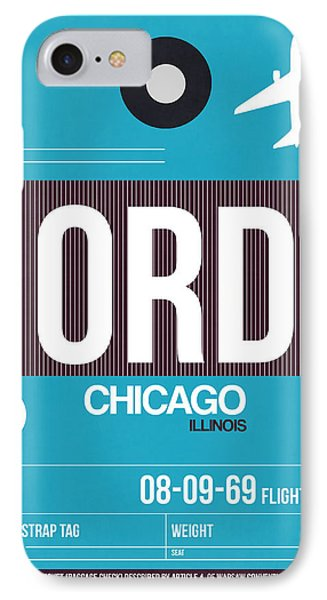Chicago Luggage Poster 1 IPhone Case
