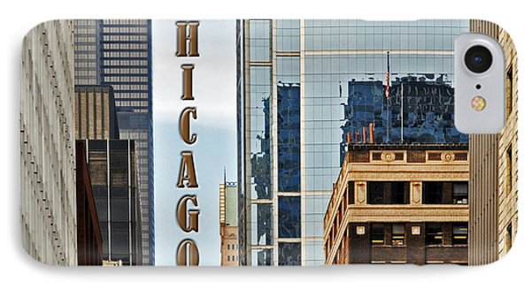 Chicago  IPhone Case by Lydia Holly