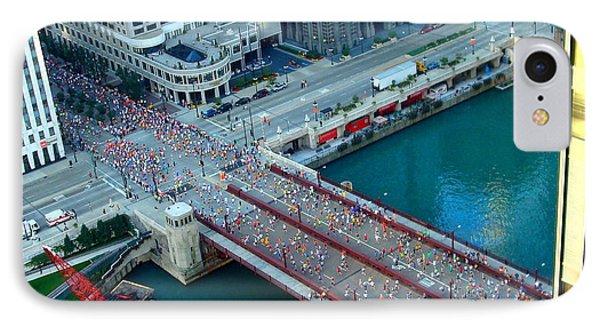 Chicago Marathon 2008 IPhone Case by Kay Gilley